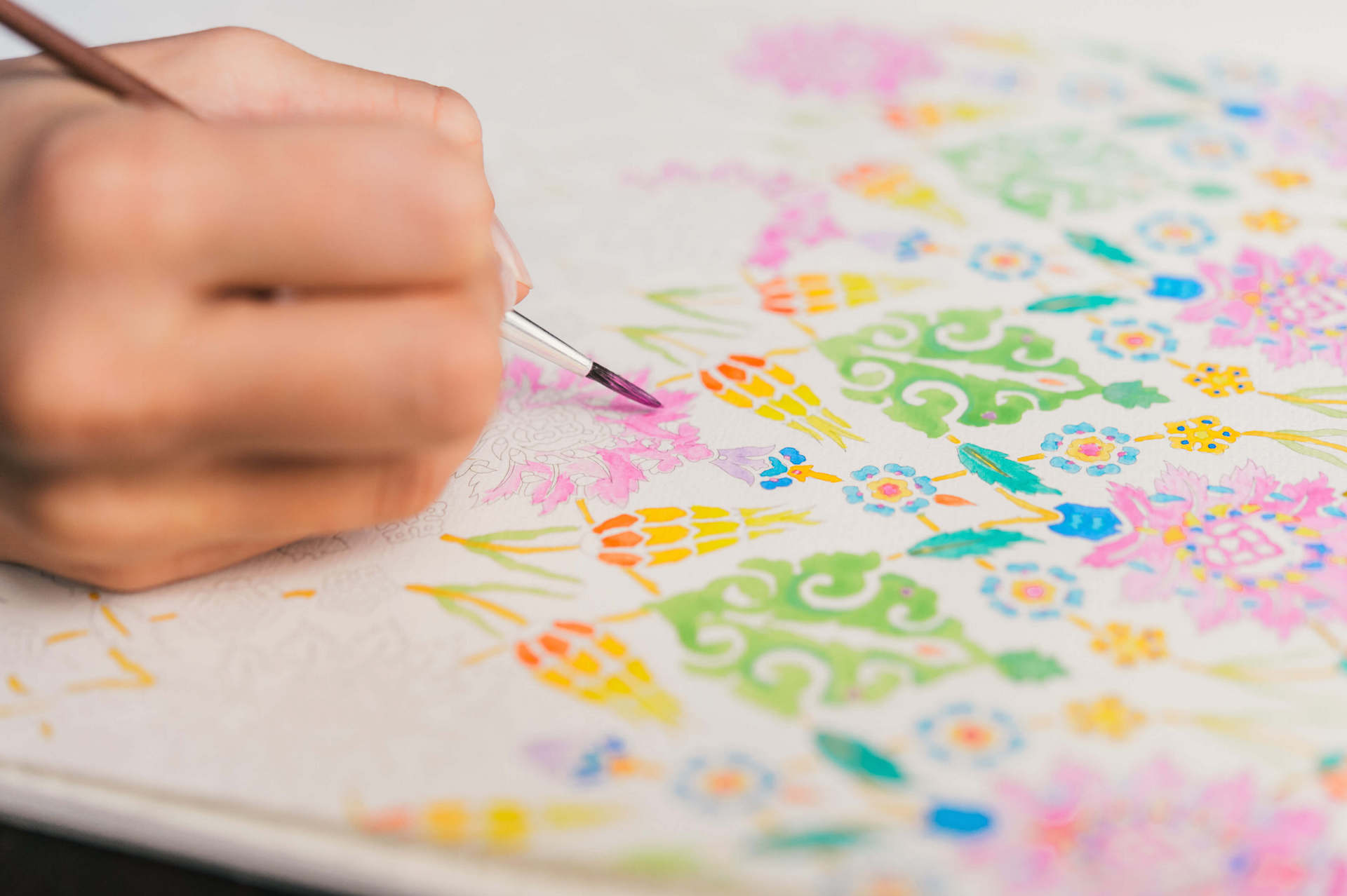 Genussmomente mit bunten Farben