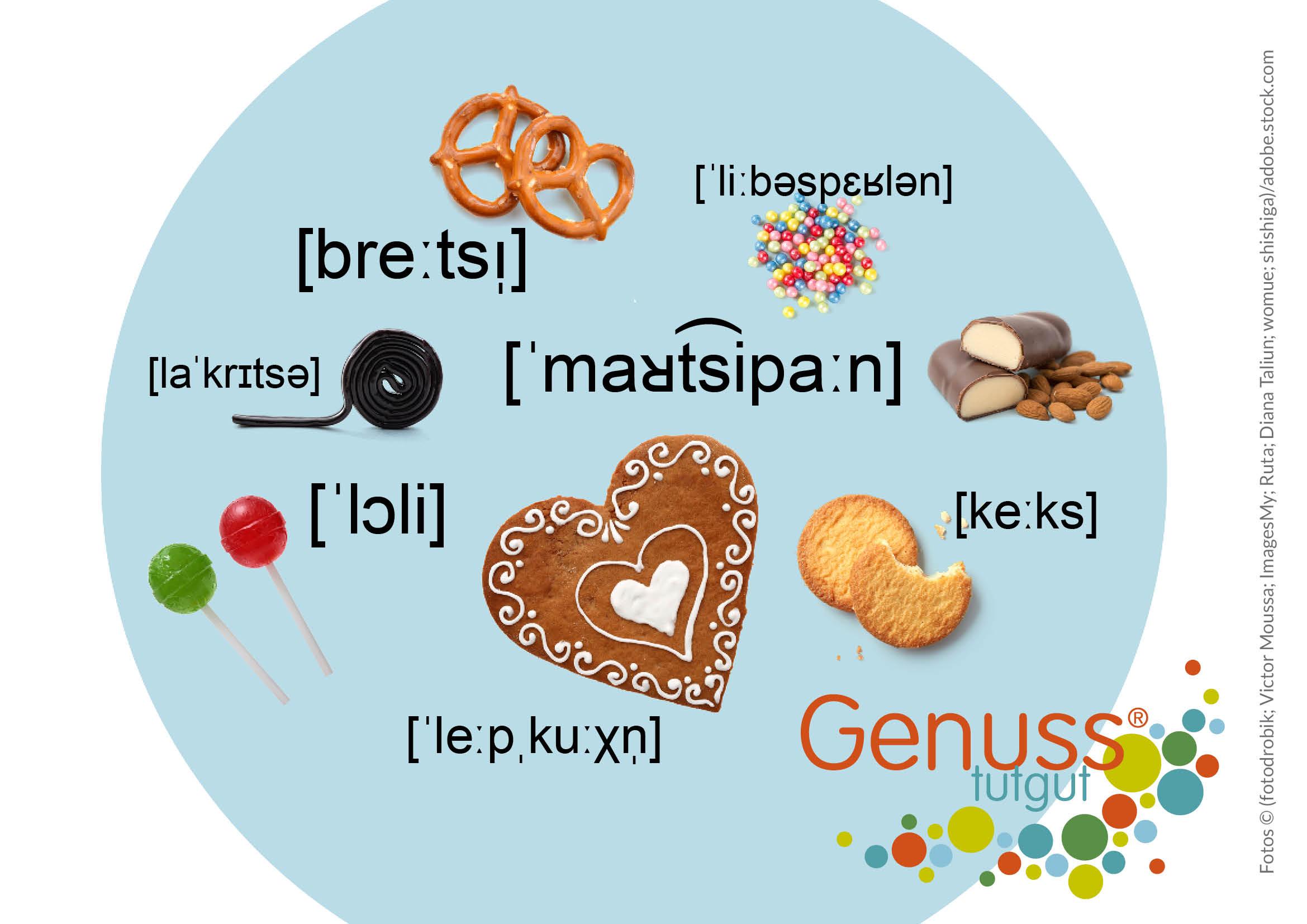 Zum Tag der Muttersprache fragen wir uns, wo Begriffe wie Lakritze oder Liebesperlen herstammen?