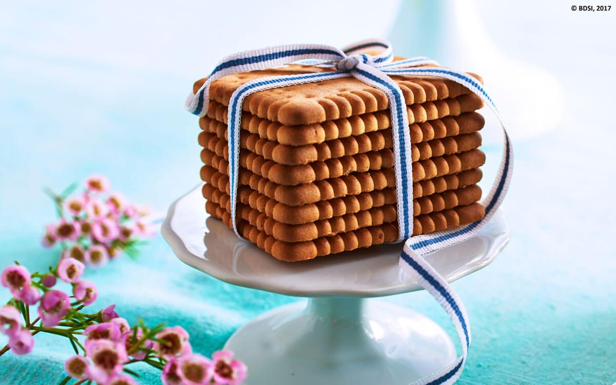 Die klassischen Butterkekse erfreuen sich das ganze Jahr über großer Beliebtheit