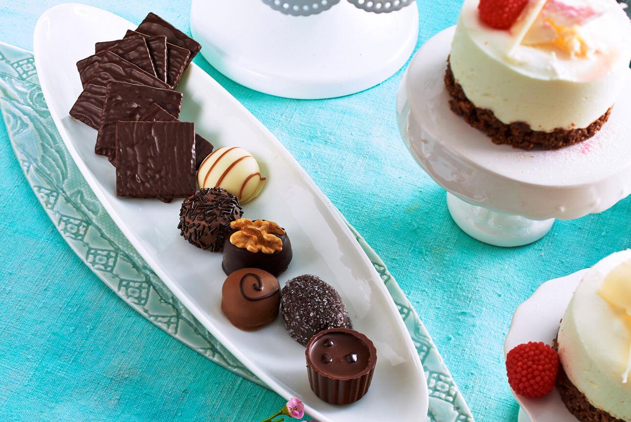 Zum Muttertag verschenkt fast jeder Zweite Süßwaren.
